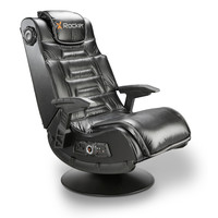 Michael Anthony Furniture X-Rocker Pro Series Pedestal Wireless Black Gaming Chair