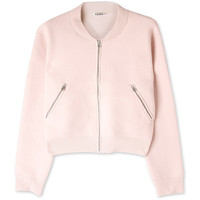 Acne Olympia Cropped Bomber Cardigan