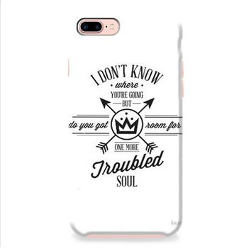 Fall Out Boy Lyric Cover iPhone 8 | iPhone 8 Plus Case