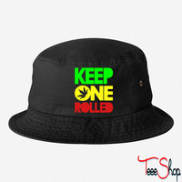 kep one rolled bucket hat