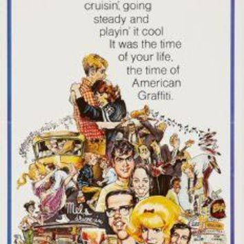 "American Graffiti Poster Movie Poster Insert 14""X36"""