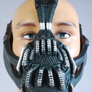 Batman: Dark Knight Rises Bane Mask Prop for Costume = 1927930628