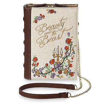 Beauty and the Beast Clutch Bag by Danielle Nicole - Live Action Film   Disney Store