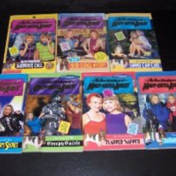 The New Adventures of Mary-Kate & Ashley 7 Book Set The Case of: Big Scare Mountain Mystery/Flapper Napper/Creepy Castle/Rock Star's Secret/Summer Camp Caper/Weird Science Mystery/Surprise Call