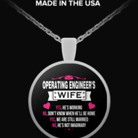 Operating Engineer's Wife Necklace oew1