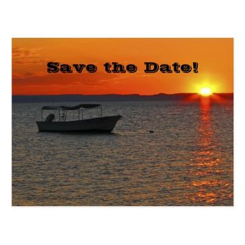 Save the Date 75th Birthday Celebration Postcard