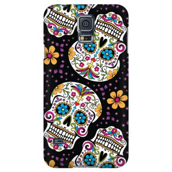 Halloween Sugar Skull Day of The Dead Phone Case