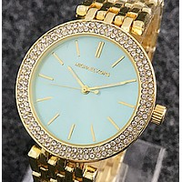 MK Micheal Kors Creative personality trend needle table male watch, alloy strap lovers watch