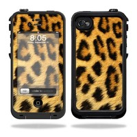 Mightyskins Protective Vinyl Skin Decal Cover for LifeProof iPhone 4 / 4S Case wrap sticker skins Cheetah