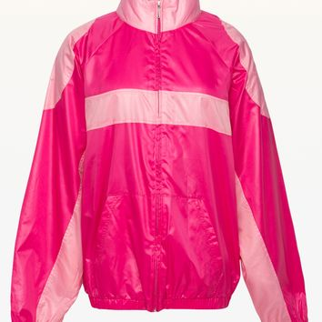 Colorblock Nylon Jacket