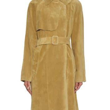 Summer suede trench coat | Tomas Maier | MATCHESFASHION.COM US