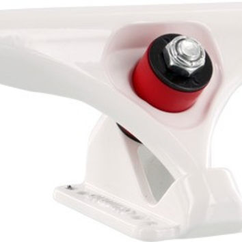"Gullwing Reverse 10.0"" 47 Degree Truck White Longboard Trucks"