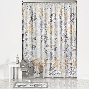 Snow Much Fun Shower Curtain and Hook Set