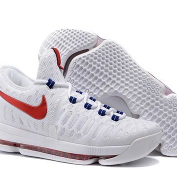 nike mens kevin durant 9 independence day basketball shoe us7 12