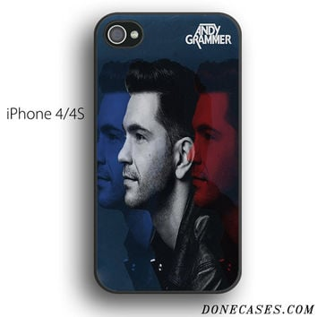 andy grammer red cyan case for iPhone 4[S]