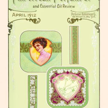 American Perfumer and Essential Oil Review, April 1912 20x30 poster