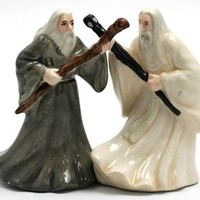 Gandalf & Saruman - Salt & Pepper Shakers