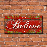 Shop Merry Christmas Wooden Sign on Wanelo