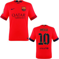 Messi Jersey Barcelona Away 2014 2015