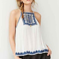 Ecote Bali Embroidered Tank Top-