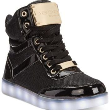 bebe Sport Krysten High Top Light Up Sneakers | macys.com