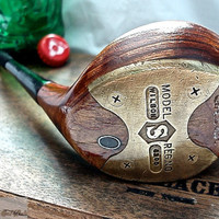 "Golf Club Bottle Opener -- 1950's Sam Snead Fairway Wood 'Spoon"" Golf Club -- Wilson 4300"