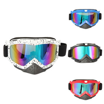 New Motorcycle ATV Dirt Bike Racing Dirt Cycling Anti-UV Ski Skiing Goggles Glasses Men Women Snow Glasses Ski Googles Hot Sale