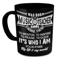 I'm a  Music Teacher mug4bornmusicteacher