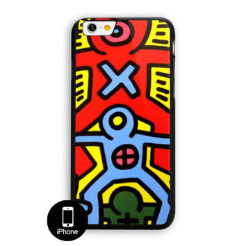 Keith Haring Screenprint 1985 iPhone 6 Plus Case
