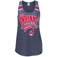 Cleveland Indians Women's Triblend Scoop Racerback Tank by 5th & Ocean