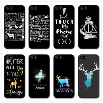 "The new fashion of harry potter For iphone 6 6plus Case Hard plastic Case  7 7plus Case 5.5"" Phone Cover"