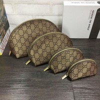 One-nice™ GUCCI Cosmetic Bags For Accessories Travel Storage Cosmetic Bag Four Piece Suit