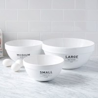 Utility Mixing Bowl Set