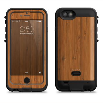 The Real Bamboo Wood  iPhone 6/6s Plus LifeProof Fre POWER Case Skin Kit