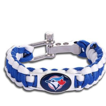 MLB - Toronto Blue Jays Custom Paracord Bracelet
