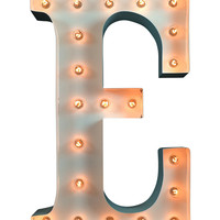 "22"" Lighted Letter E"