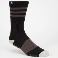 Adidas Pro Roller Mens Crew Socks Black/Grey One Size For Men 25473512701
