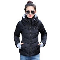 Padded Down Parka Jackets for Women Winter Coats