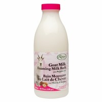 Alpen Secrets Goat Milk Foaming Milk Bath with Argan Oil, Argan