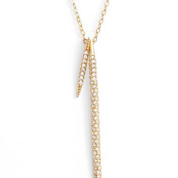 Nadri Kate Pavé Spear Pendant Necklace | Nordstrom
