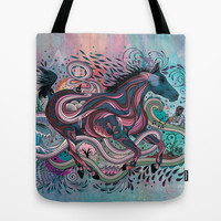 Poetry in Motion Tote Bag by Mat Miller