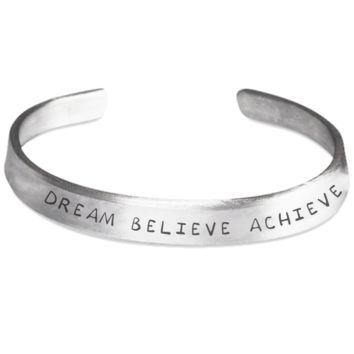 Dream Believe Achieve Bracelet