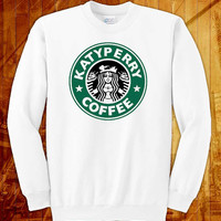 katy perry starbucks, sweatshirt size s, m, l, xl, 2xl, 3xl