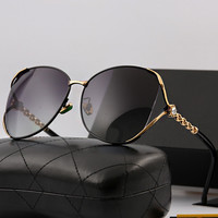 Luxury Stylish Elegant Diamonds Hollow Out Sunglasses [11405214159]