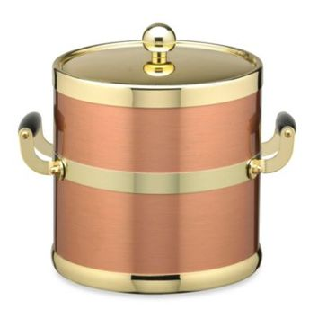 Kraftware™ Americano 5-Quart Ice Bucket in Copper/Brass