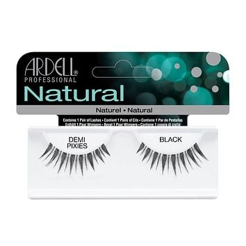 Ardell Natural Lashes -Demi Pixies Black, 1 Pair [3X Packs]