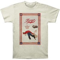 Fargo Men's  Homespun Murder Story Slim Fit T-shirt Vintage