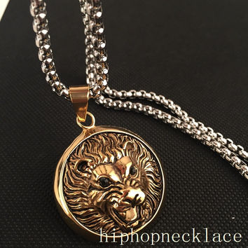 Shiny Gift Jewelry New Arrival Stylish Club Hip-hop Necklace [6542763651]