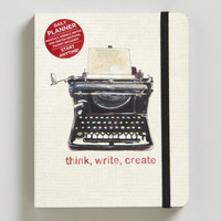 Typewriter Pocket Planner