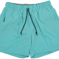 Dockside Swim Trunk in Aqua Blue by Southern Marsh